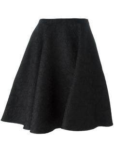кружевная юбка с цветочным узором Paule Ka