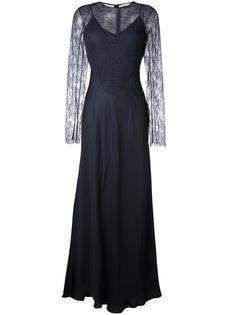 кружевное платье  Nina Ricci