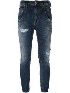 укороченные джинсы скинни Diesel