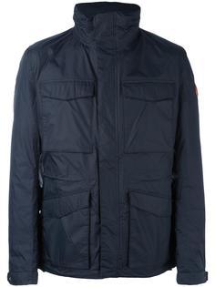 дутая куртка с карманами с клапанами Save The Duck