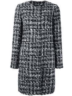 пальто узкого кроя из ткани букле Dolce & Gabbana