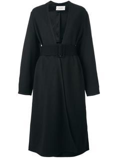 пальто с запахом Lemaire