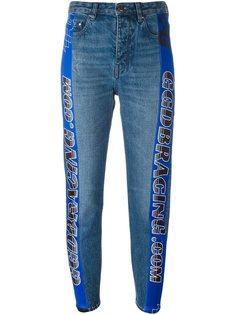 джинсы с гоночными полосками Golden Goose Deluxe Brand