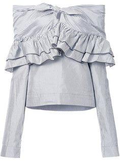 блузка Domino Stripe  Isa Arfen