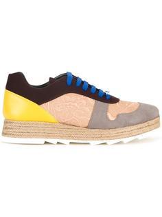 кроссовки с панельным дизайном Stella McCartney