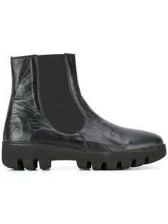 ботинки на утолщенной ребристой подошве Rocco P.