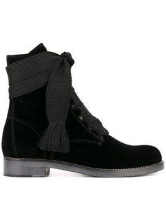 бархатные ботинки Harper Chloé