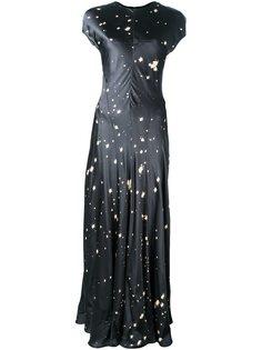 платье с принтом брызг краски Alexander Wang