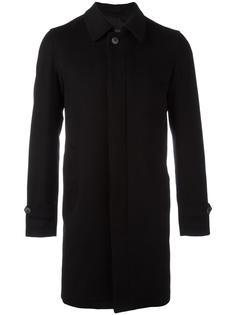 кашемировое пальто с потайной застежкой Herno