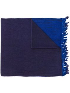 шарф в стиле колор-блок Suzusan