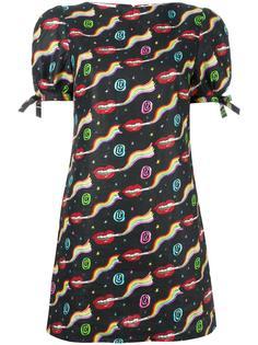 платье мини с узором Olympia Le-Tan