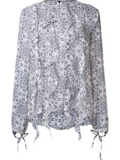 шелковая блузка Zappa Thomas Wylde