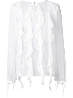 шелковая блузка Enlighten Thomas Wylde