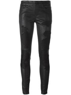 рваные обтягивающие брюки Rta