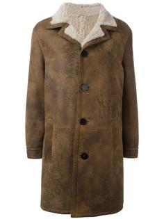 пальто на пуговицах Neil Barrett