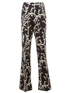расклешенные брюки с принтом Giambattista Valli