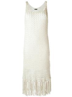 трикотажное платье с бахромой Osklen