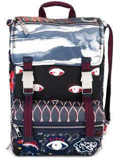 рюкзак со смешанным принтом Kenzo