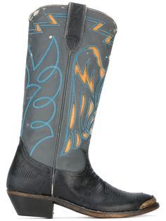 ковбойские ботинки с тиснением Golden Goose Deluxe Brand