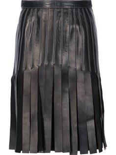 юбка А-образного силуэта Mugler