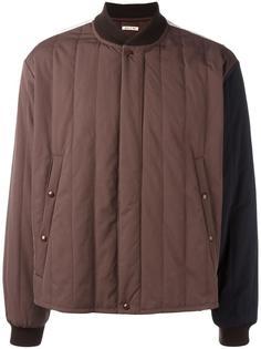 куртка-бомбер дизайна колор-блок Marni