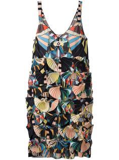 платье из жоржета с рисунком Crazy Cleopatra Givenchy