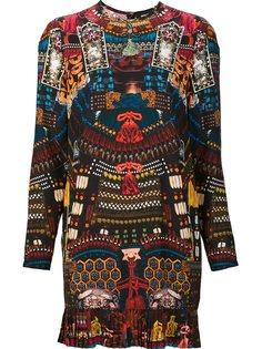 платье с японским орнаментом Dsquared2