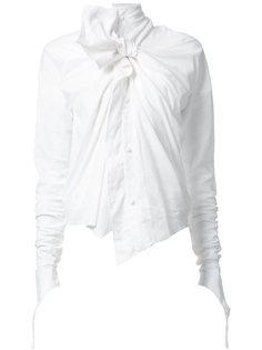 блузка с бантом  Aganovich