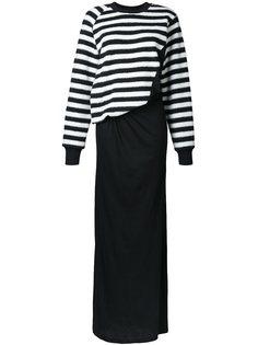 платье в полоску  A.F.Vandevorst