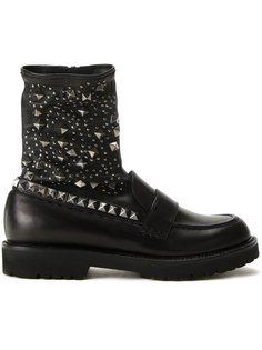 ботинки с заклепками  A.F.Vandevorst