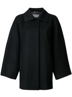 пальто с широкими рукавами Alberta Ferretti