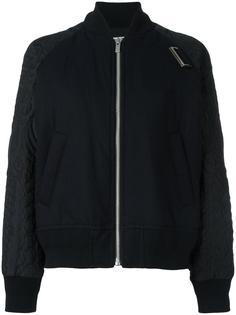 стеганая куртка-бомбер  Sacai