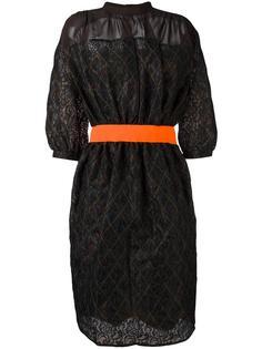 платье шифт с геометрическим узором Kolor