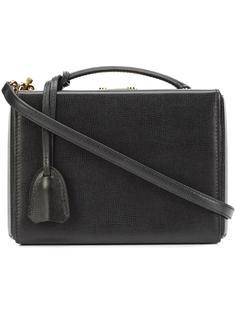 маленькая сумка-тоут с одной ручкой Mark Cross
