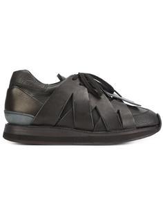 кроссовки с перекрестным дизайном Hender Scheme