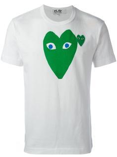 футболка с принтом-логотипом Comme Des Garçons Play