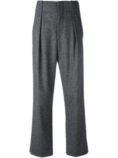 брюки с высокой талией Isabel Marant