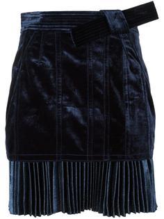 юбка мини с плиссированным подолом 3.1 Phillip Lim