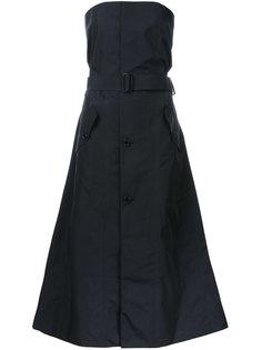 платье без бретелек  Yang Li