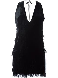 платье с оборочным подолом Dsquared2