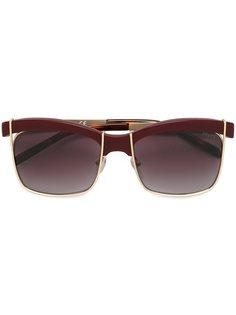 солнцезащитные очки в квадратной оправе Emilio Pucci