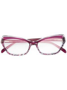 солнцезащитные очки в оправе кошачий глаз Emilio Pucci