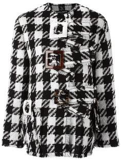 пальто в клетку Dolce & Gabbana