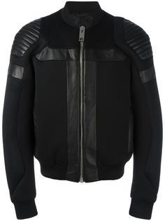 куртка бомбер с панельным дизайном Les Hommes