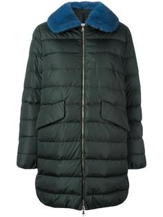 пуховое пальто Indis Moncler