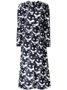 платье с принтом cat  Nina Ricci