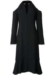 платье длины миди с открытыми плечами Proenza Schouler