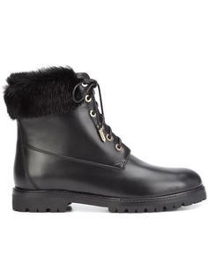 армейские ботинки Aquazzura