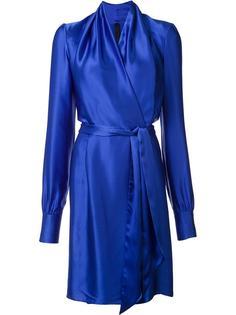 шелковое платье с запахом Gareth Pugh