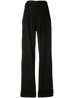 брюки-палаццо с завязками A.F.Vandevorst